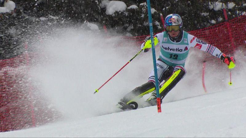 Un podium pour finir, Pinturault n'était pas rassasié : revivez sa 2e manche du slalom