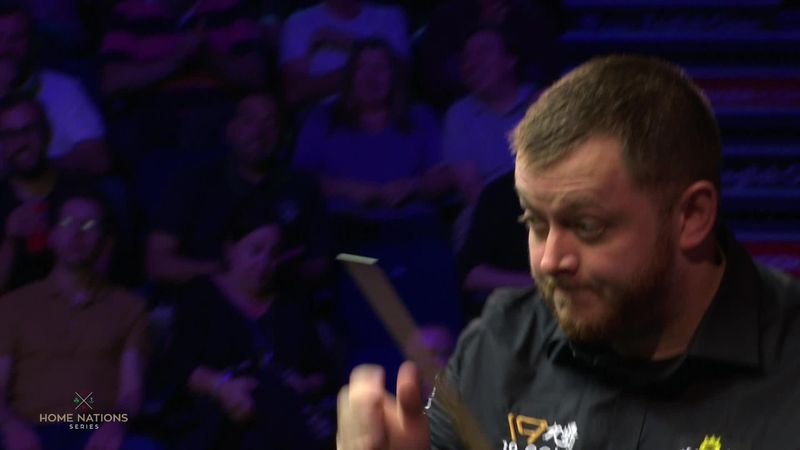 English Open : missed shot Allen against Wattana