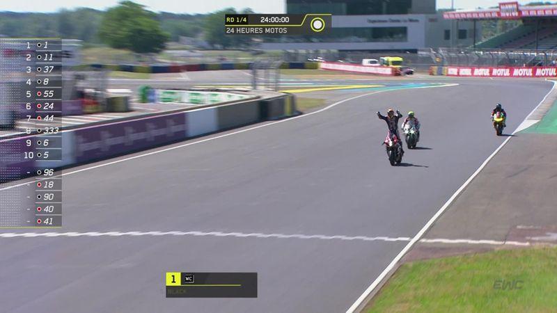 Suzuki domina las 24 Horas de Le Mans; podios para Checa y Forés