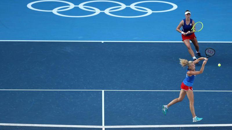 Krejcikova/Siniakova, aur la Jocurile Olimpice de la Tokyo