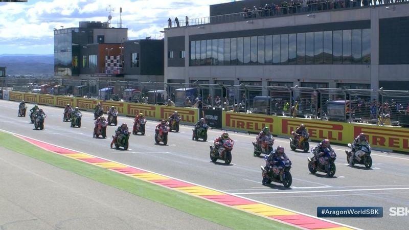 Melandri ancora sul podio, è terzo nella gara vinta da Davies