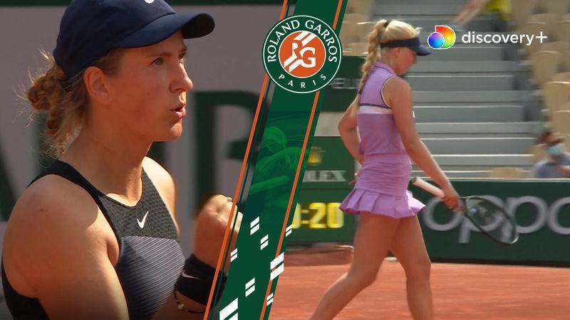 Highlights: Clara Tauson er færdig i French Open efter tæt kamp mod tidligere verdensetter