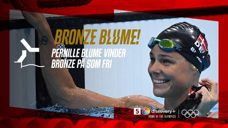 Bronze Blume! Pernille Blume sikrer Danmark endnu en medalje