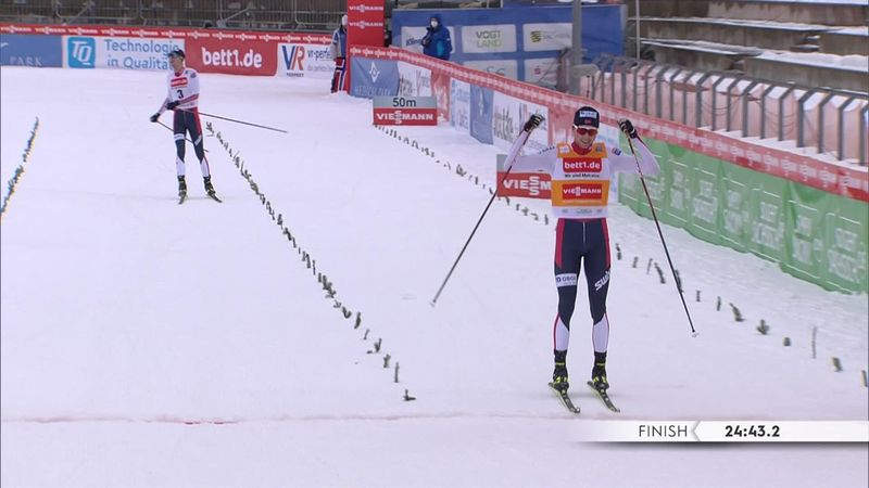 Riiber claims 10km glory in Klingenthal