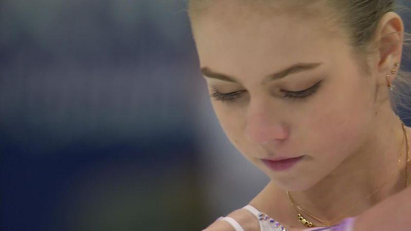 Выступление Трусовой: степ-аут, шок Плющенко и 12-е место