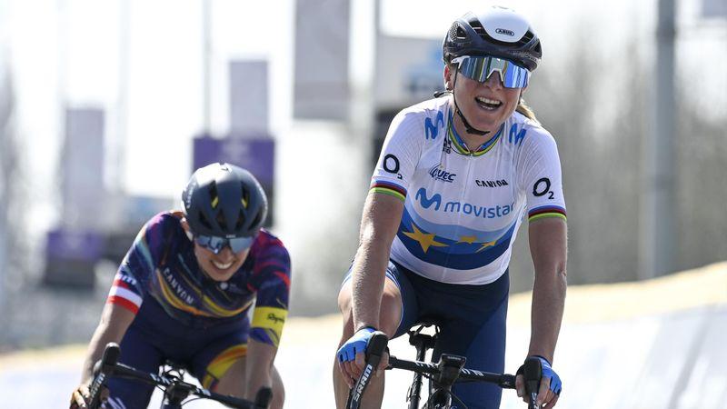 Van Vleuten se estrena con el Movistar Team ganando A Través de Flandes