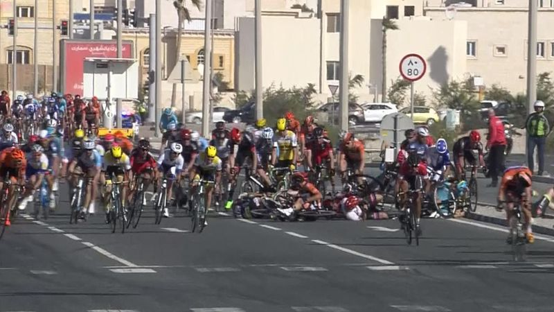 Kristoff wins second stage in Tour of Qatar, Cavendish stays in gold
