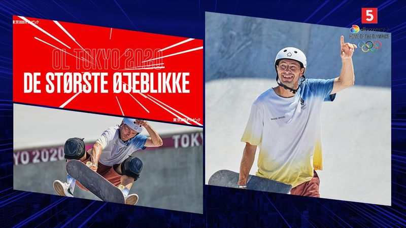 Største øjeblikke: Rune Glifberg som ældste debutant ved OL