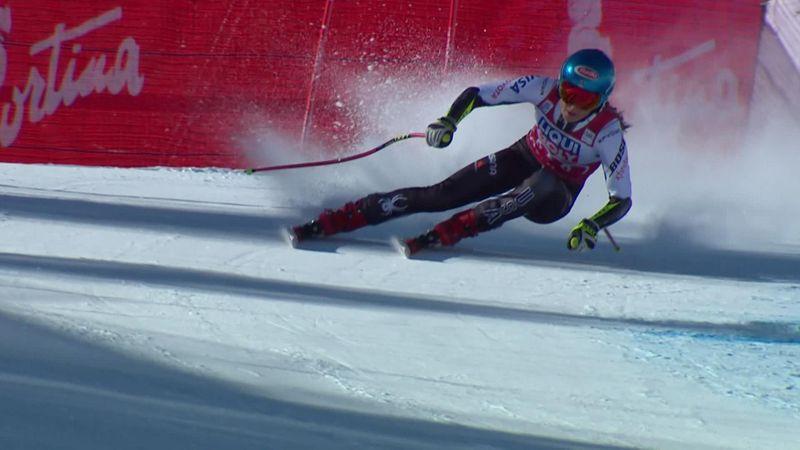 Brilliant Shiffrin wins Cortina d'Ampezzo in style