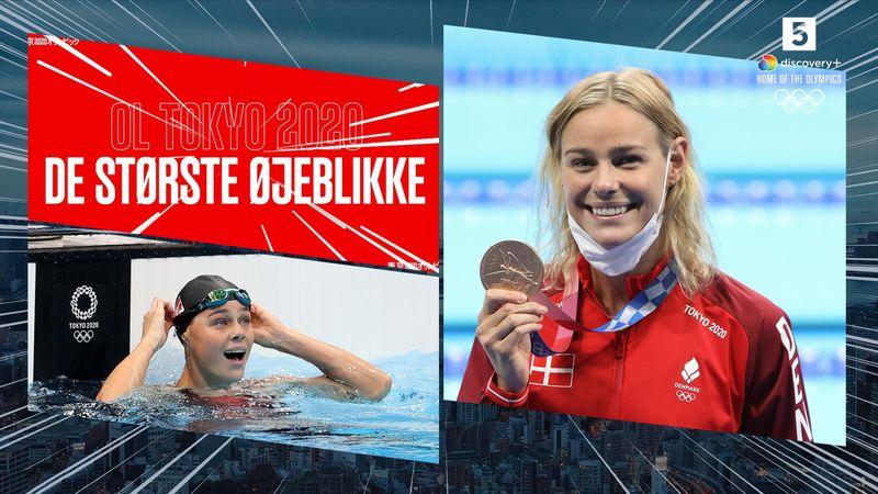 Største øjeblikke: Da Pernille Blume sikrede dansk bronze i 50 meter fri
