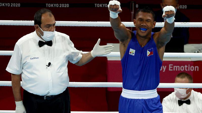 Boxeo | La tremenda lluvia de golpes de Marcial que el armenio no pudo soportar