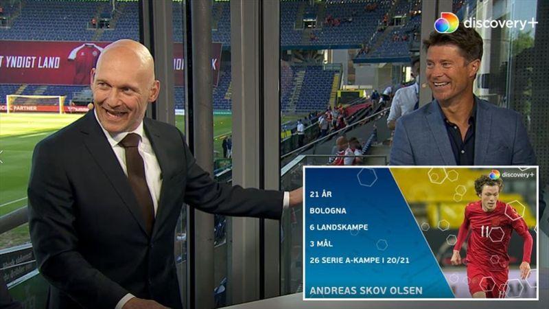 """Hvor god er Andreas Skov Olsen? """"Han er god!"""""""