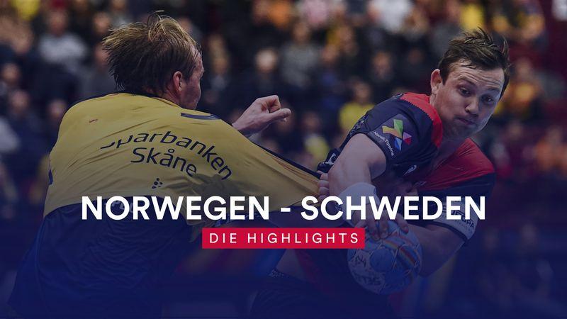 Sieg im Skandinavien-Duell! Norwegen weiter auf Halbfinal-Kurs