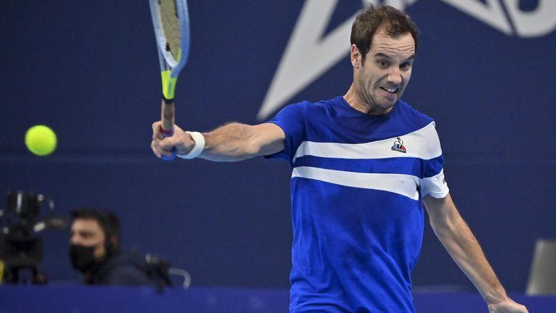 ATP Antwerpen: Richard Gasquet - Dusan Lajovic, meccsösszefoglaló