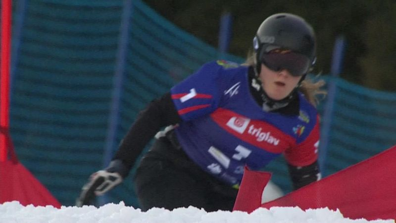 Nadyrshina oro nello slalom parallelo