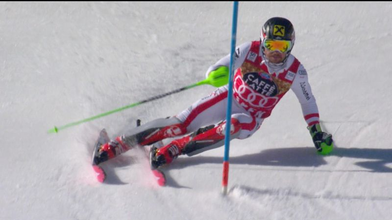 Hirscher on course for Aspen double after first run