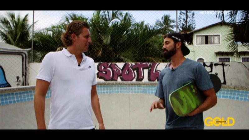 «Моя миссия – вдохновлять людей». Легенда скейтборда – о лютых социальных проблемах Бразилии
