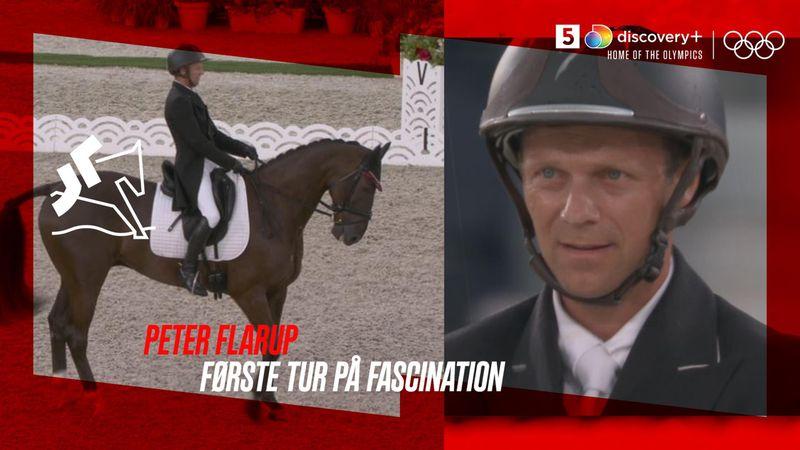 God start for Peter Flarup og Fascination i military ridning