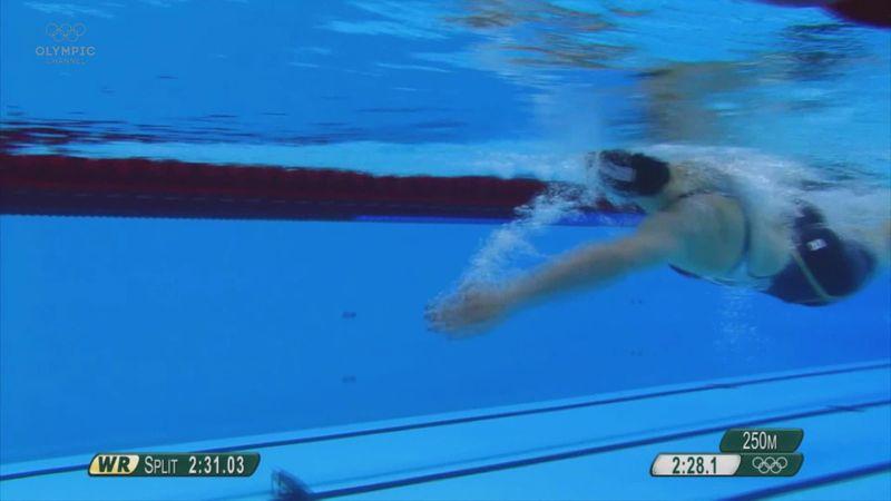All of Ledecky's gold medal moments