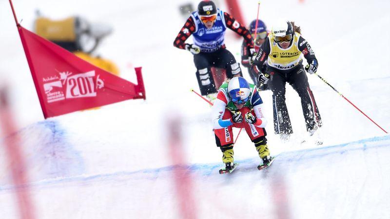 "Ophélie David raconte ""l'adrénaline ahurissante"" du skicross"