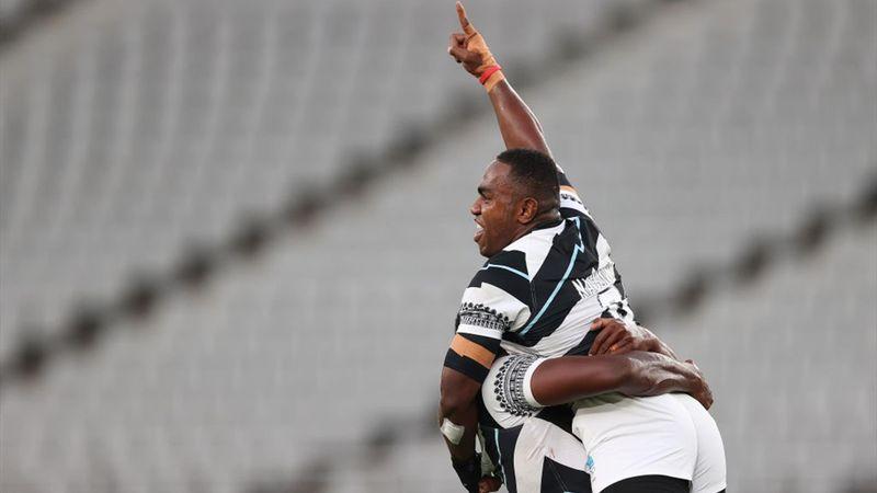 De hoogtepunten van de olympische finale rugby sevens tussen Nieuw-Zeeland en Fiji