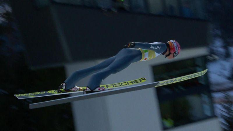 Germany claim mixed team ski jumping gold