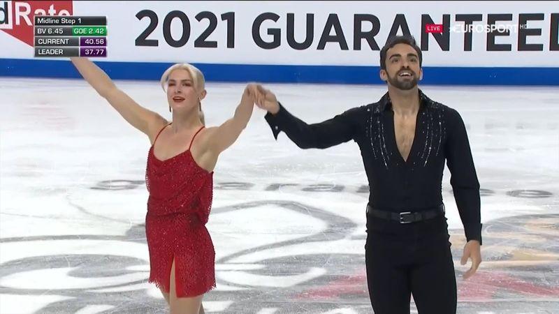 ¡El podio es posible! Gran debut de Olivia Smart y Adrián Díaz en la danza rítmica
