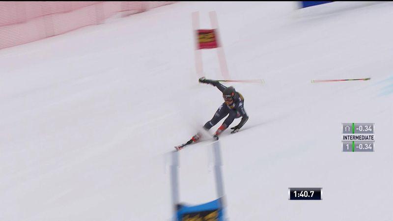 Squaw Valley giant slalom: Goggia's incredible run