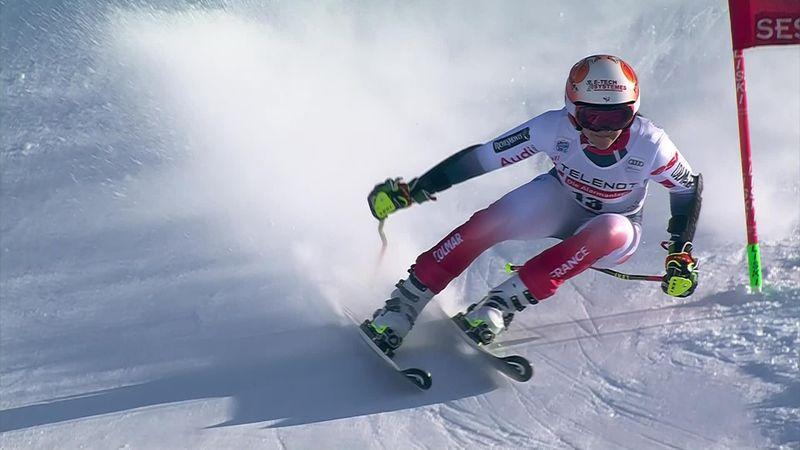 Sestriere: Sestriere , Giant Slalom Women - Run 2 - Frasse Sombet