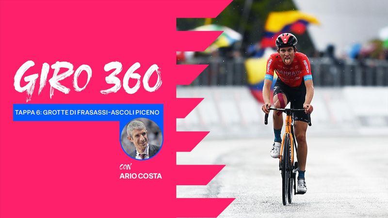 Giro 360, tappa 6: Mader e Valter giovani MVP