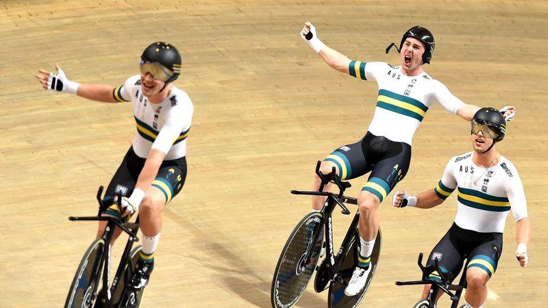 Weltrekord: Fabelzeit und WM-Gold für Vierer aus Australien