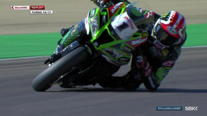 Rea throws the gauntlet down in Superpole