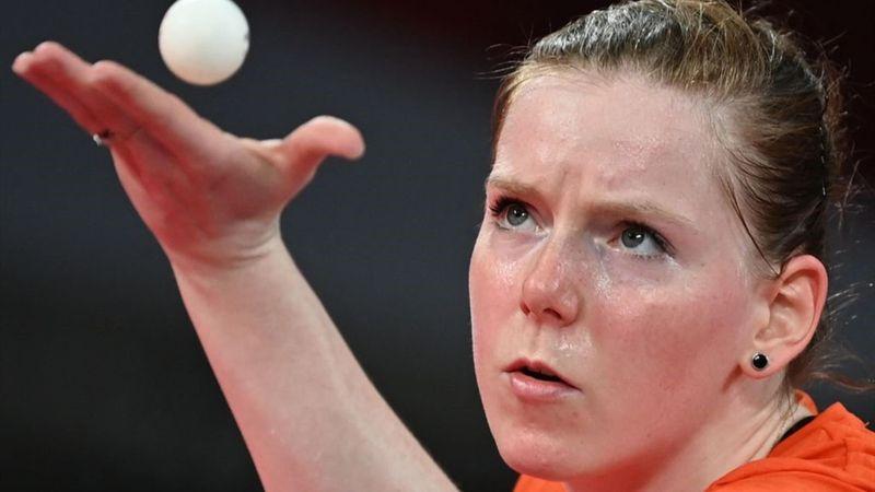 Tokyo 2020 - Netherlands mot Egypt - Bordtennis – OL-høydepunkter