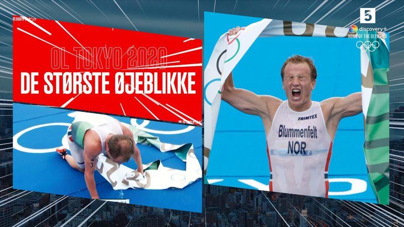 Største øjeblikke: Da norsk triatlon-triumf endte med opkast og kørestolstransport