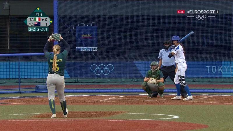 Softball, altra sconfitta per l'Italia: 0-1 contro l'Australia
