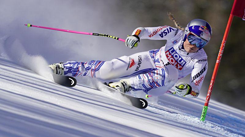 Vonn fails to finish final run in Cortina d'Ampezzo