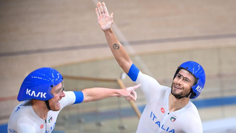 'Greatness comes in the form of Ganna' - Wiggins on Italy pursuit gold