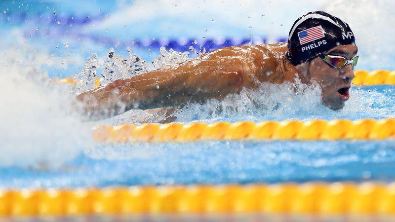 Olympic Momentum: Michael Phelps, history-maker