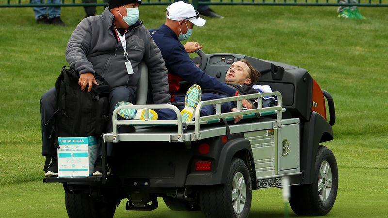 Un actor de Harry Potter sufre un colapso en el partido de famosos de la Ryder Cup