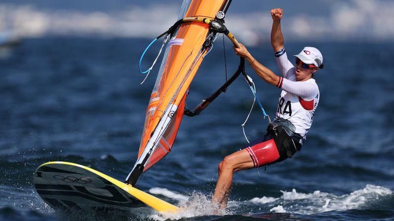 Une dernière victoire dans la medal race : Charline Picon décroche l'argent en RS:X