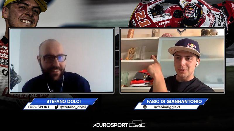 """Di Giannantonio: """"Voglio vincere il titolo Moto2 per Gresini"""""""