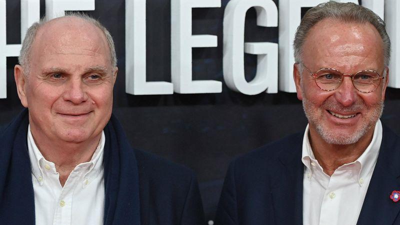 """""""Hollywoodreif"""": Rummenigge und Hoeneß feiern Nagelsmanns Bayern"""