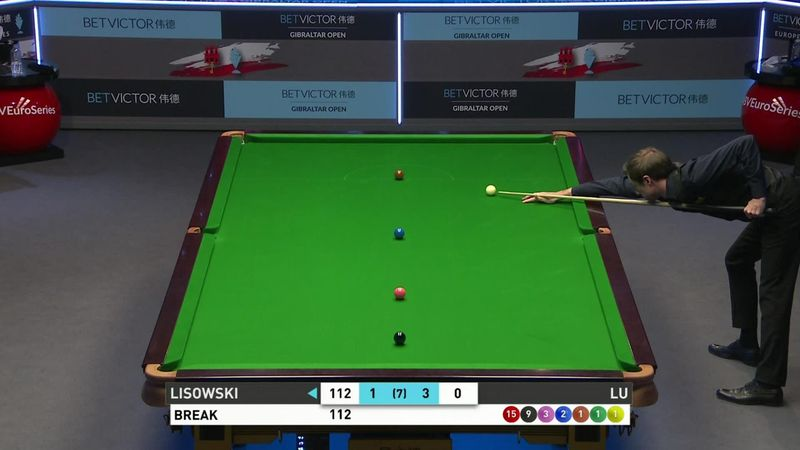 'Magnificent' - Lisowski compiles stunning 137 break