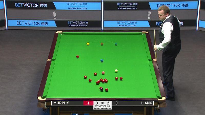 European Snooker Masters: Murphy a găsit o soluție excelentă la bila roșie