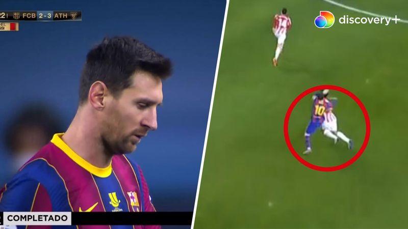Første badebillet i Barca-trøjen: Se Messi nedlægge Villalibre i døende sekunder af finalegyser