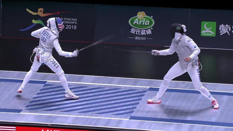Der Schrei zum Sieg: USA krönt sich zum Fechtweltmeister