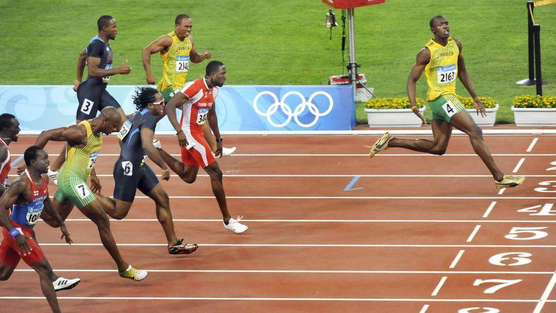 Olympia-Highlights: Bolt fliegt mit Weltrekord zu Gold 2008