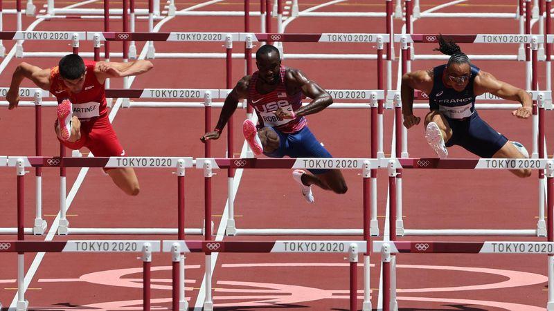 Deux Français en finale du 110m haies : revivez les qualifications de Martinot-Largarde et Manga