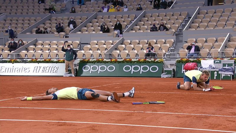 Krawietz and Mies win men's doubles title at French Open
