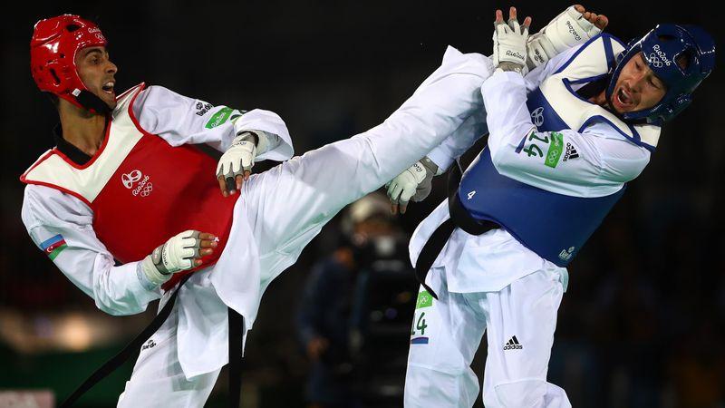 Die wildesten Taekwondo-Headkicks bei Olympia